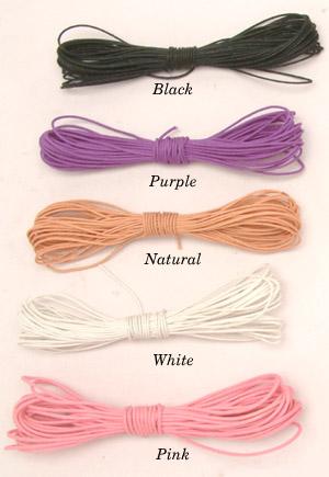 Wax cotton string