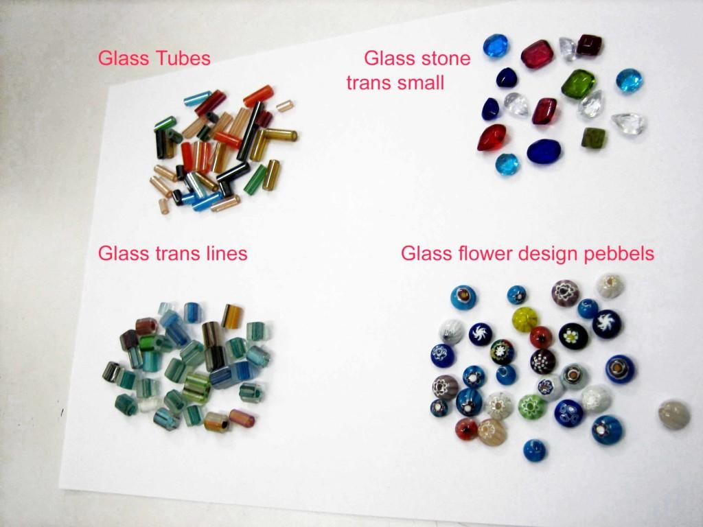 Glass 4 styles asstt