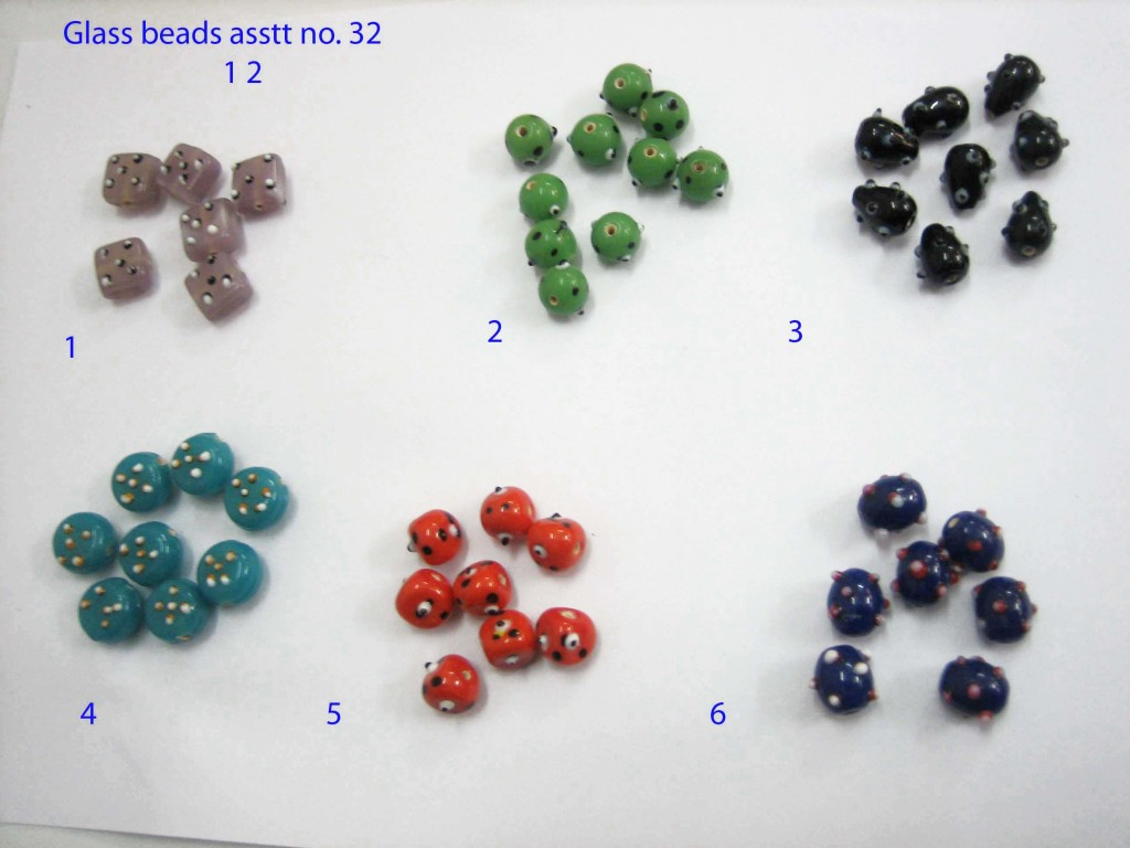 Glass beads asstt no 32